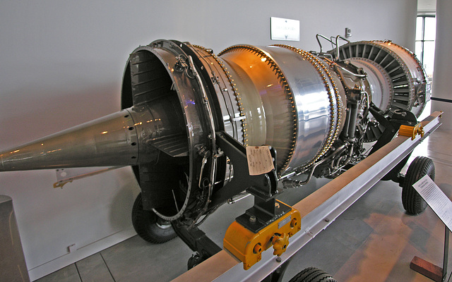 Pratt & Whitney JT3D Turbofan (6855)