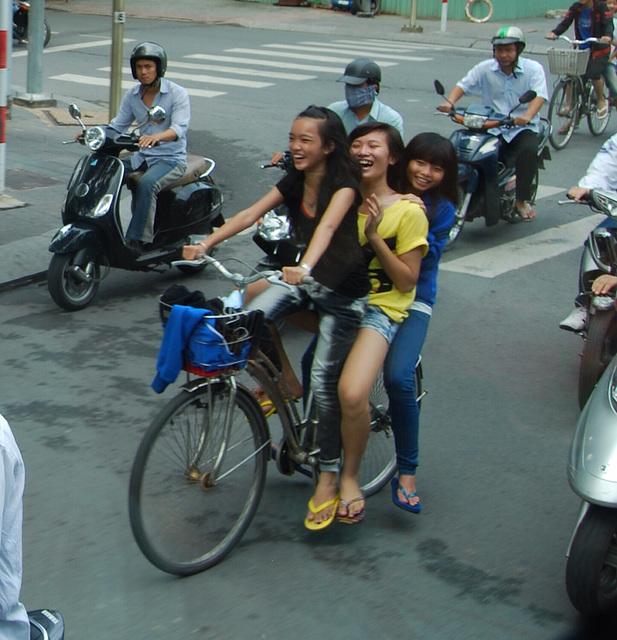 La joie de vivre à Shanghai