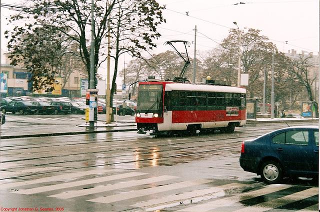 Brno Tram #1615, Brno, Moravia(CZ), 2005