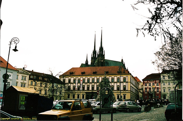 "Zelny Trh ""Cabbage Market"" Square Near Cathedral, Brno, Moravia(CZ), 2005"