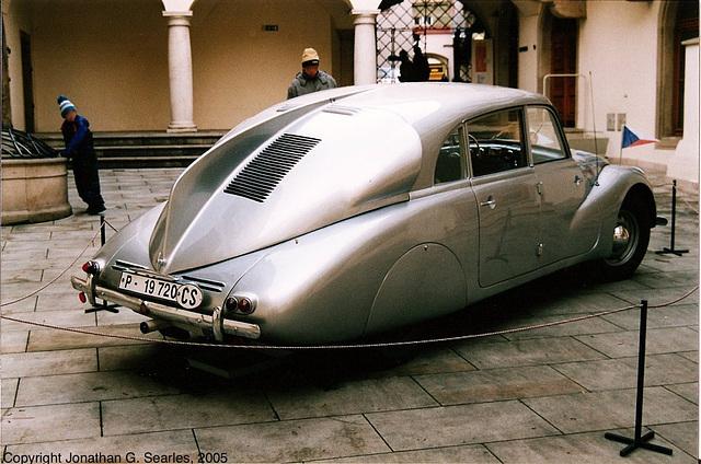 1936 Tatra T87, Picture 2, Brno, Moravia(CZ), 2005