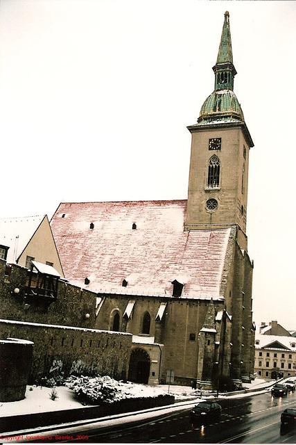 St. Martin's Concathedral, Bratislava, Slovakia, 2005