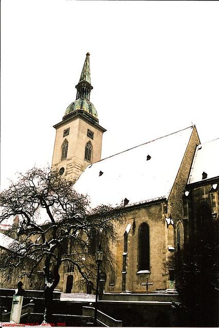 St. Martin's Cathedral, Picture 2, Bratislava, Slovakia, 2005