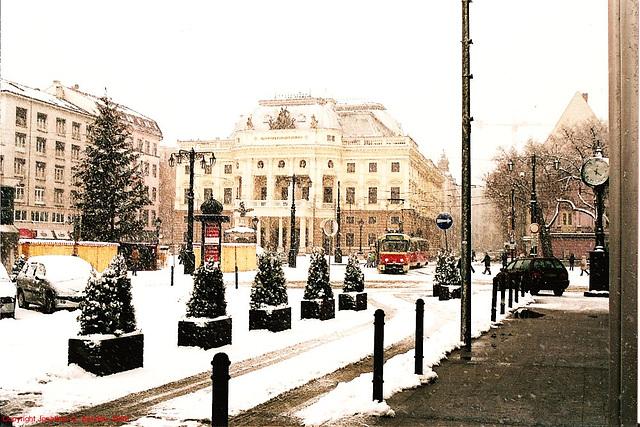 Slovenske Narodne Divadlo, Bratislava, Slovakia, 2005