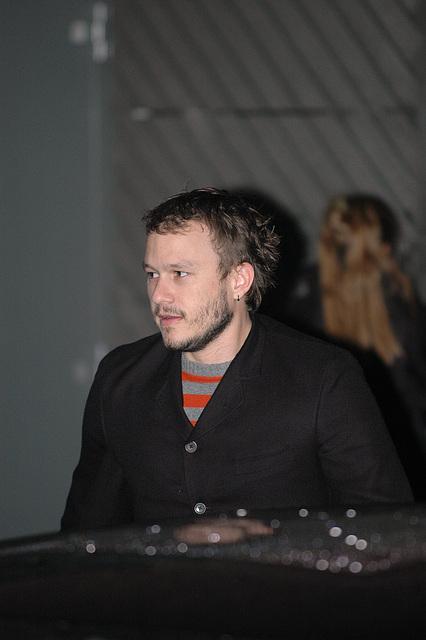Heath Ledger dead