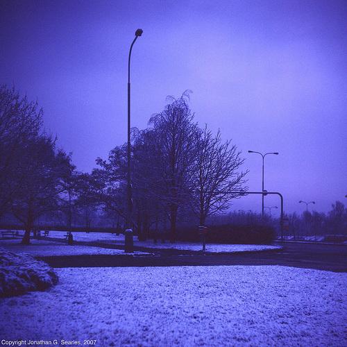 Dark Blue Winter, Picture 2, Sidliste Haje, Prague, CZ, 2007