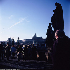 People On Karluv Most, Picture 2, Prague, CZ, 2007