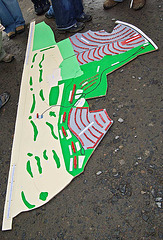 Menie Links - Protest walk 012