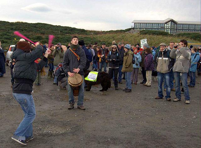 Menie Links - Protest walk 010