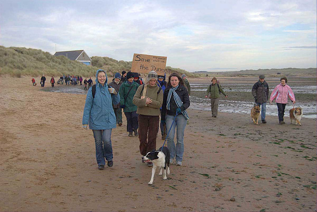 Menie Links - Protest walk 008