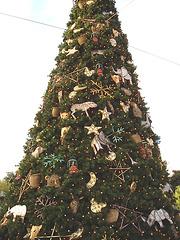 Giant Xmas tree - Arbre de Noël géant -  Disneyworld / December 29th 2006.
