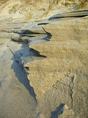 Sand geschliffen