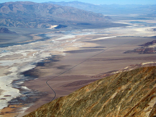 Dantes View of Badwater Road (1221)