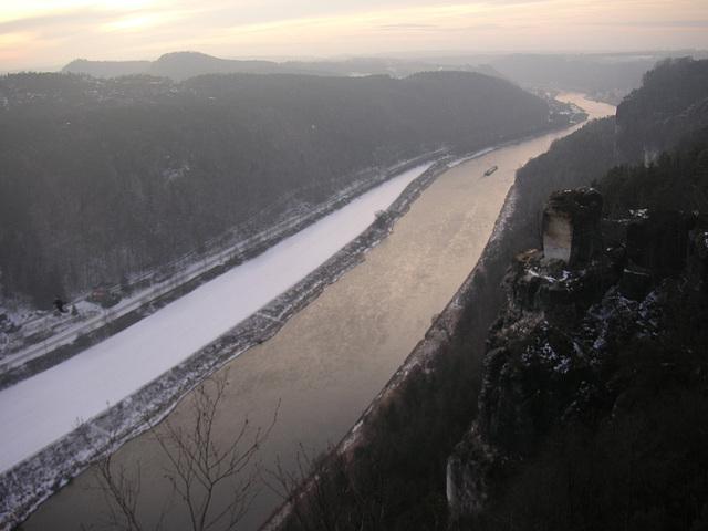 Blick von der Bastei -