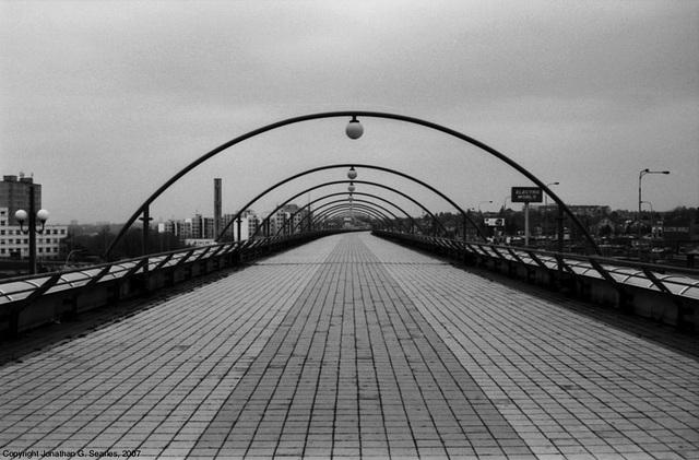 DPP Metro Tubular Bridge, Picture 9, Cerny Most, Prague, CZ, 2007