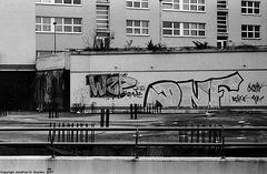 Vandalism, Sidliste Cerny Most, Prague, CZ, 2007