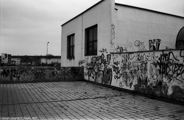 Vandalism, Picture 3, Sidliste Cerny Most, Prague, CZ, 2007