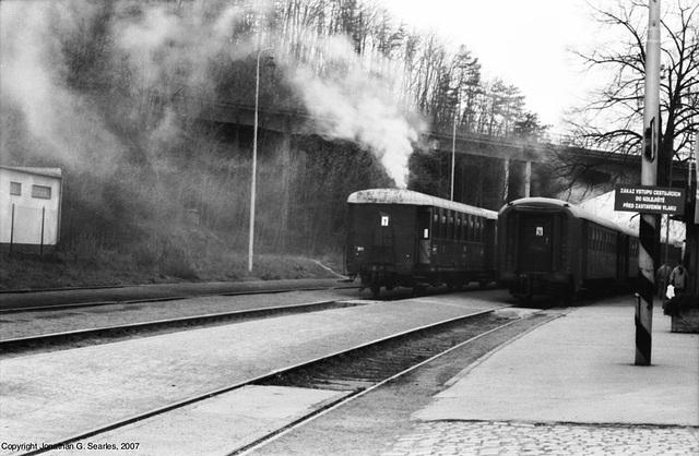 Smoking Train Stoves, Nadrazi Branik, Prague, CZ, 2007