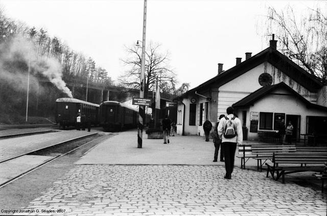 Smoking Train Stoves, Picture 3, Nadrazi Branik, Prague, CZ, 2007