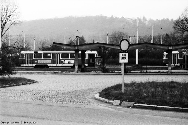 Nadrazi Branik Tram Stop, Prague, CZ, 2007