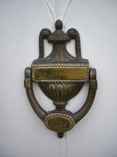 Türklopfer von 1908