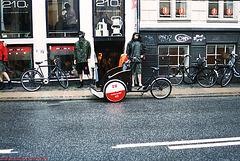 Bikes, Copenhagen, Denmark, 2007
