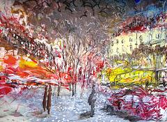 Lisboa, Av. da Liberdade (painting)