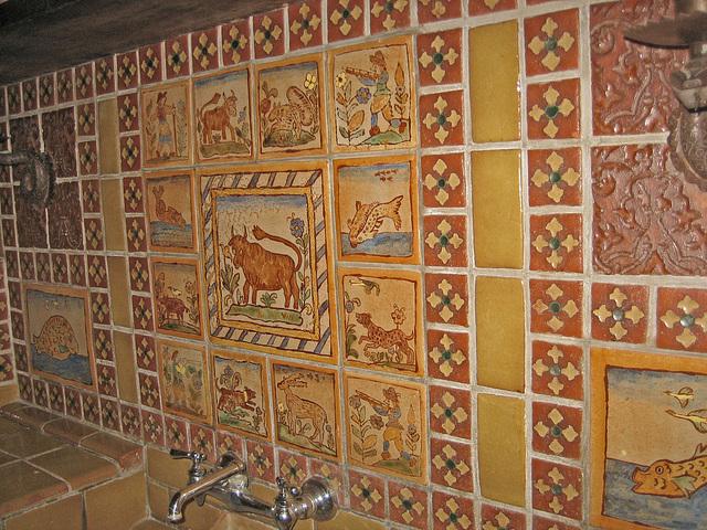 Scotty's Castle Kitchen Tilework (8748)