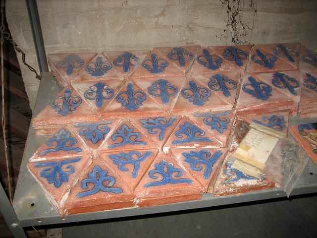 Tile at Scotty's Castle (8715)