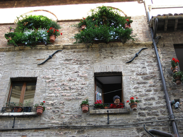 Assise, looking after Via San Francesco