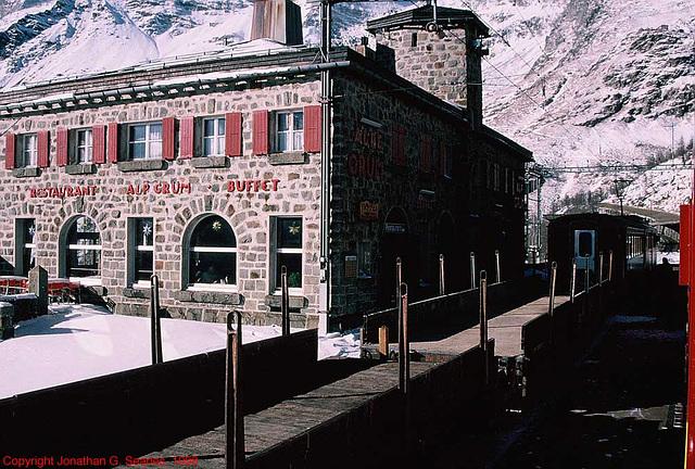 Alp Crum Buffet, Ospizio Bernina, Switzerland, 1998