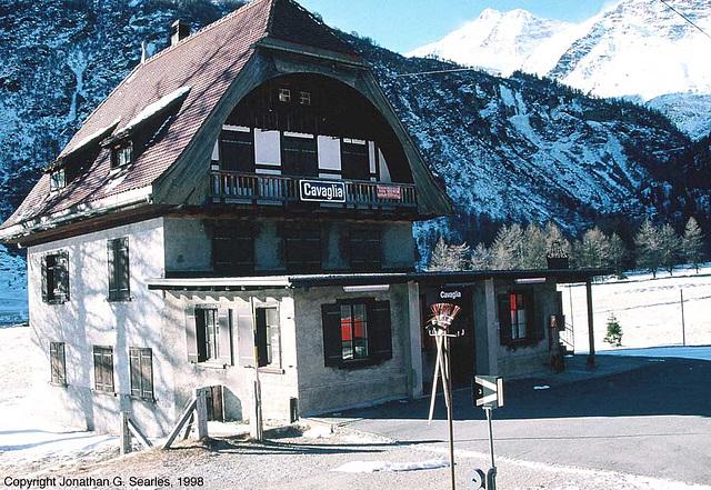 Cavaglia Bahnhof, Switzerland, 1998