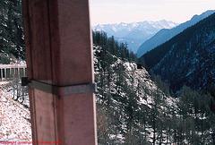Swiss Railway Snow Shed, Switzerland, 1998
