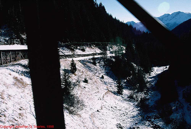 Swiss Railway Snow Shed, Picture 3, Switzerland, 1998