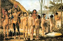 Índios Apiaka, Brésil