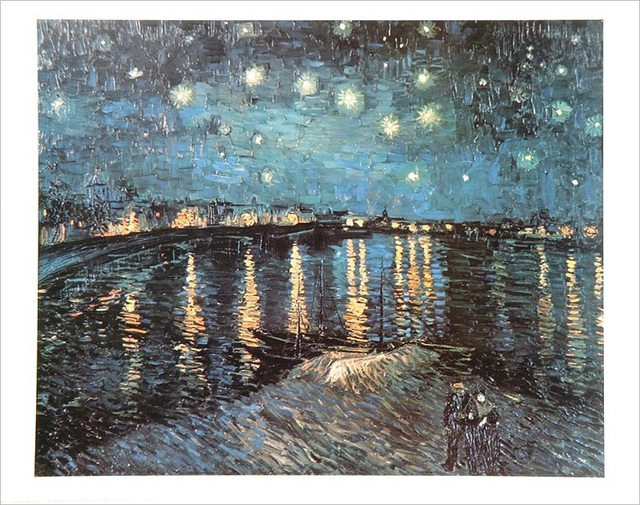 Van Gogh Starlight Over The Rhone