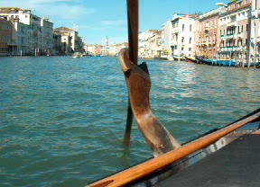 Gondula in Venice / HPIM3114