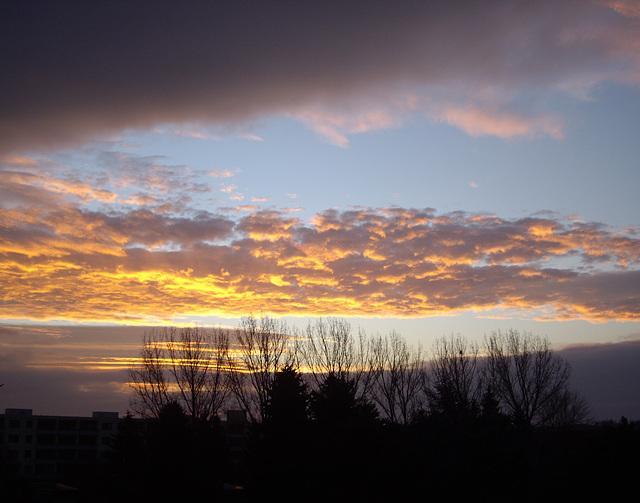 morgens - ein Augen-Blick aus dem Fenster