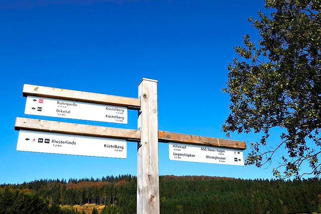 Zwischen Küstelberg und Hillekopf