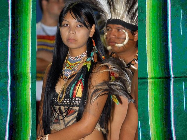 Índios Terena, Brésil