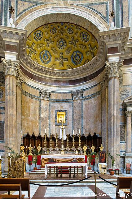 Rome Pantheon Altar 052214