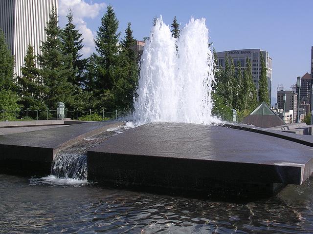 Brunnen - auf dem Dach