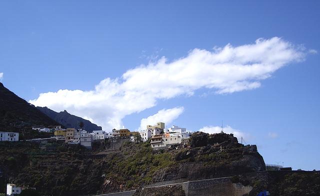 Wolken über Garachio