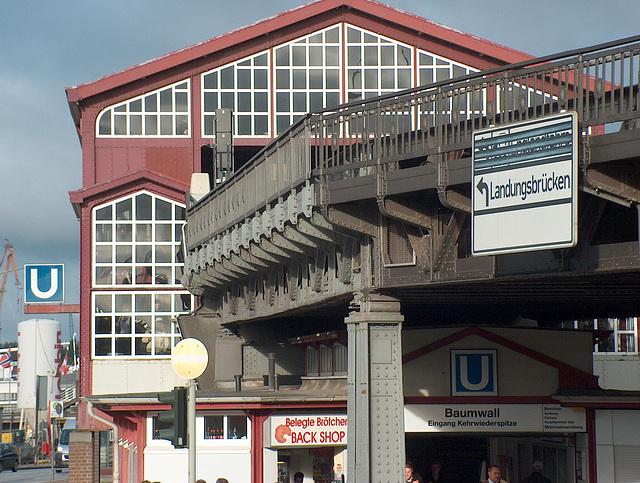 U3, Baumwall, Hamburg
