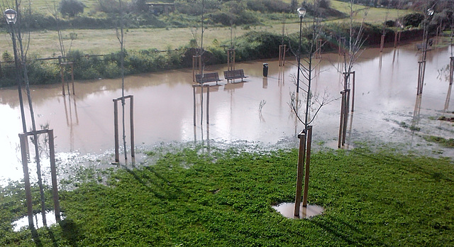 There has been too much rain in Benfica