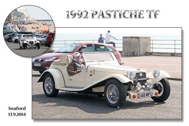 Tour of Britain - also on the route - 1992 Pastiche TF - Seaford - 13.9.2014