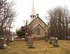 Cimetière et église  / Church and cemetery