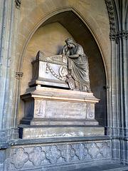 Catedral de Pamplona. Sepulcro.