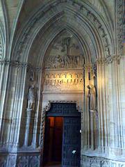 Catedral de Pamplona. Puerta.