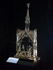 Catedral de Pamplona. Custodia gótica.